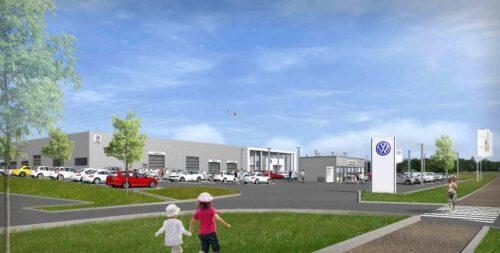 Le Groupe ADP et le Groupe Jallu-Berthier vont implanter un complexe automobile Volkswagen sur l'aéroport Paris-Charles de Gaulle