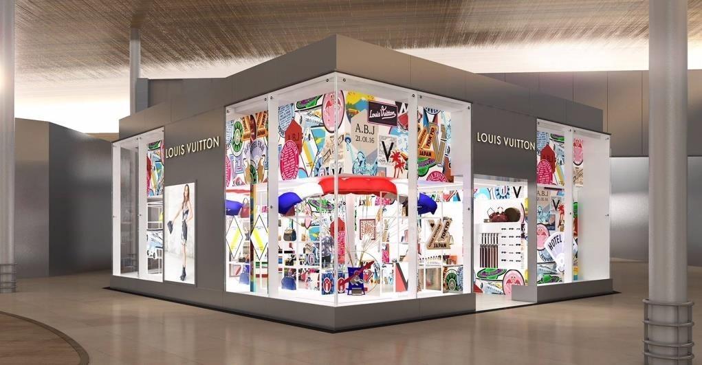 02e87d93b21 Louis Vuitton ouvre son premier magasin dans un aéroport français ...