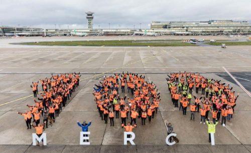 Les aéroports parisiens franchissent le seuil symbolique des 100 millions de passagers accueillis sur une année