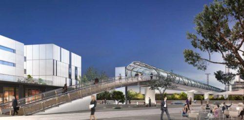 Une nouvelle passerelle pour rapprocher le terminal Sud du quartier d'affaires Cœur d'Orly