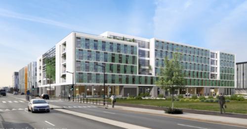 Groupe ADPet Covivio ont lancé Belaïa,deuxièmeimmeuble de bureauxsur lequartier d'affaires Cœur d'Orly