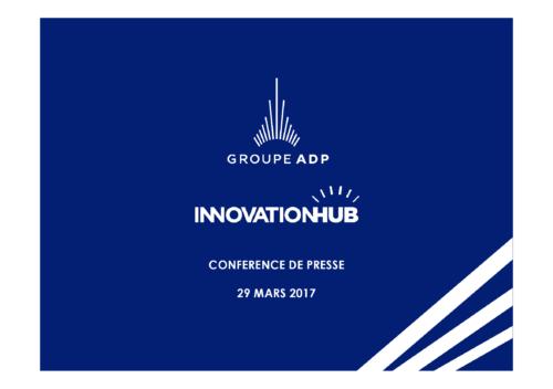 CONFERENCE DE PRESSE 29 MARS 2017