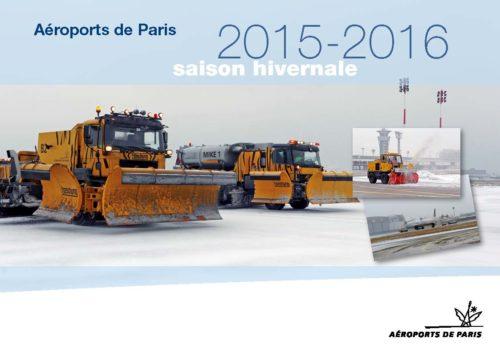 SAISON HIVERNALE 2015-2016