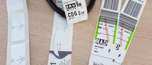 Air France et Paris Aéroport coopèrent pour assurer la traçabilitédes bagages grâce à la technologie RFID