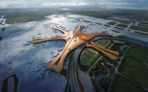 Le Groupe ADP a dessiné le Terminal 1 du nouvel aéroport international de Pékin Daxing