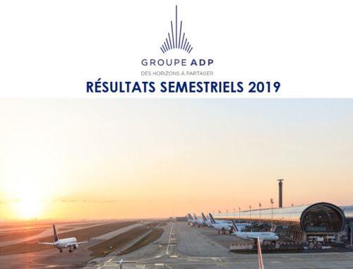 Résultats semestriels 2019 : bonne performance de l'ensemble des activités et fermeture de l'aéroport d'Istanbul Atatürk