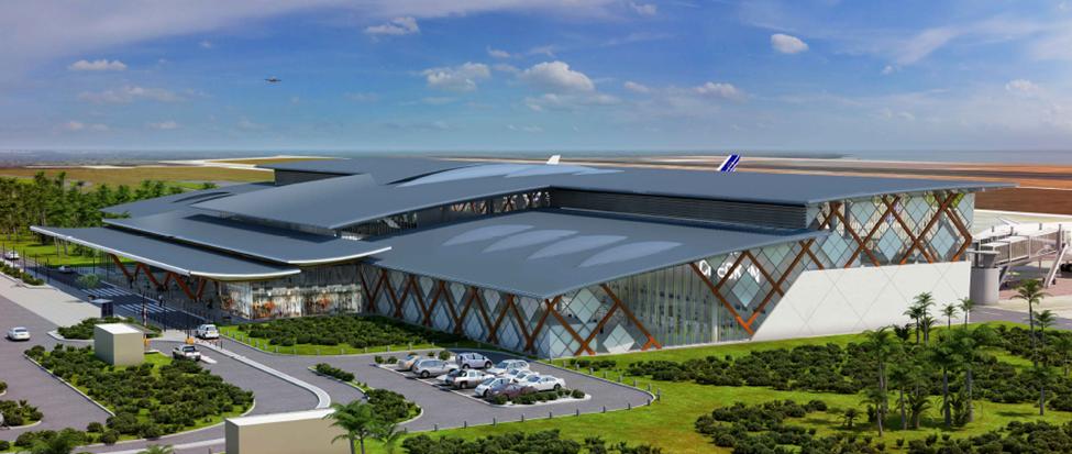 Visuel 3D aéroport Gbessia Conakry Guinée