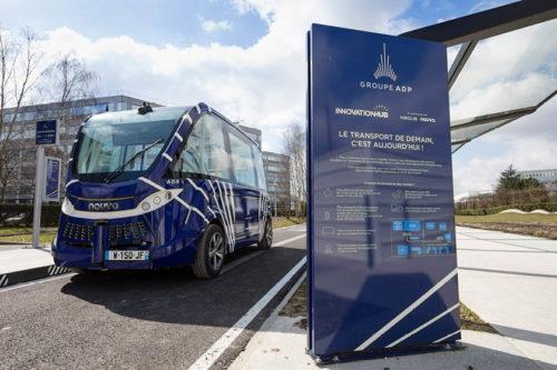 Le Groupe ADP lance la première expérimentation de navettes autonomes sur un aéroport français