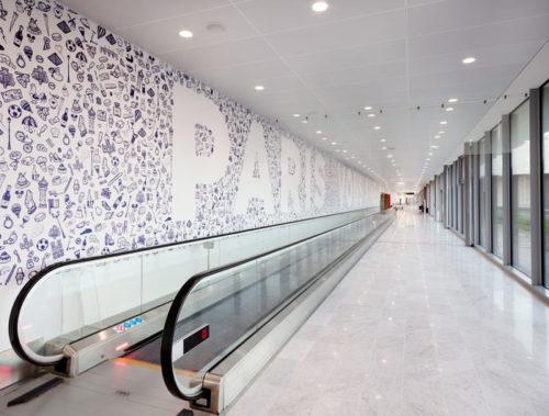 Paris Aéroport fait appel à la jeune scène artistique pour investir ses espaces